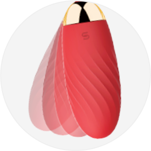 SVAKOM ELLA Mobile- controlled Wearable Bluetooth Vaginal Vibrating Bullet Egg with App