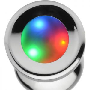 Light Up Large Anal Plug Details